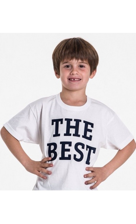CAMISETA THE BEST NIÑO