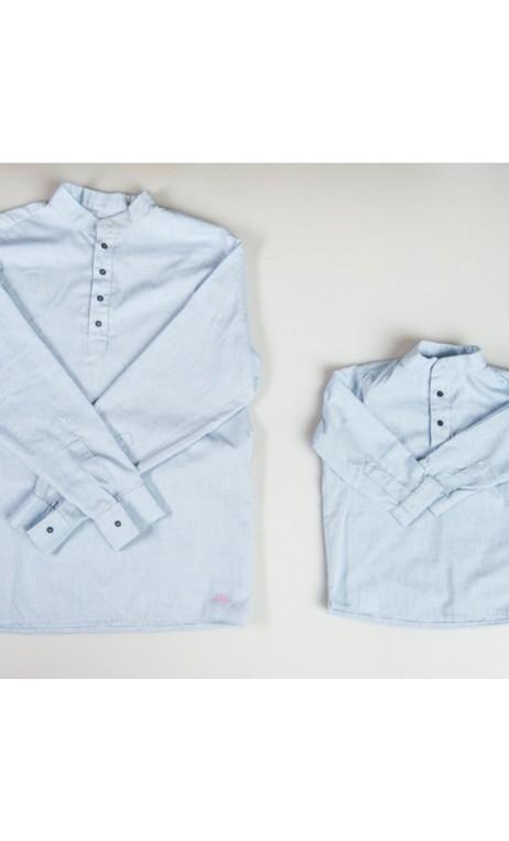Camisas cuello mao
