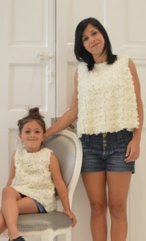 BLUSA LOLLY FLORES TUL